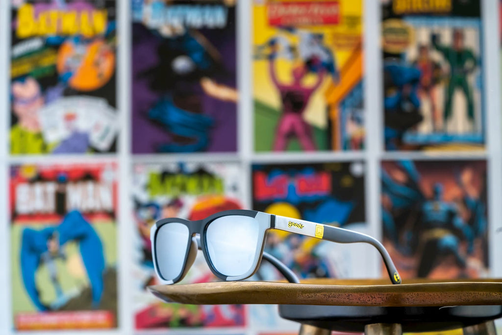 Pow! Bam! Batman Sunglasses! by goodr x DC Comics