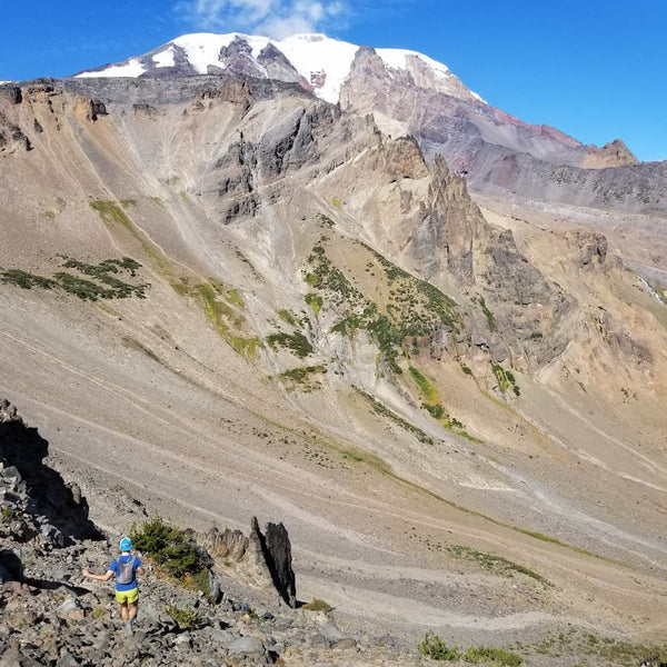 Scree at Mount Adams with Emily Halnon