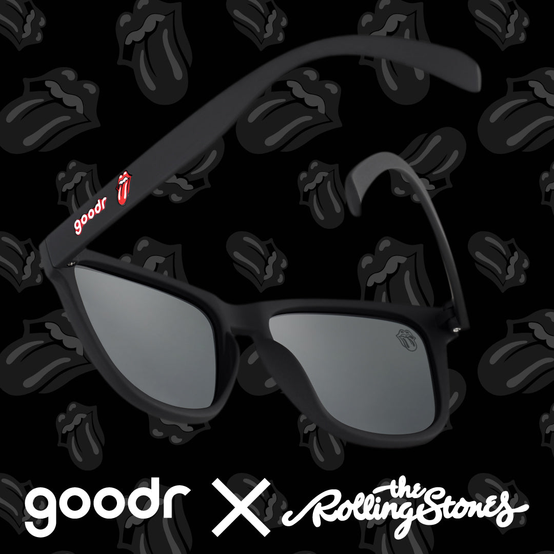 black Rolling Stone sunglasses