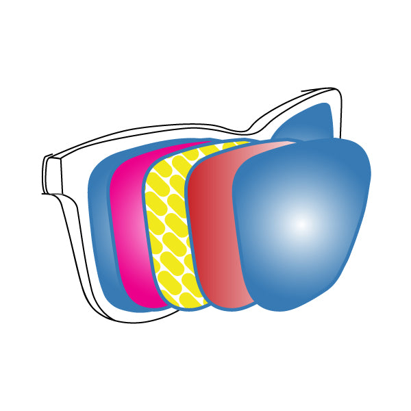 Polarised lens Goodr