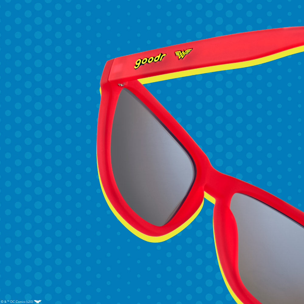 RED WONDER WOMAN SUNGLASSES