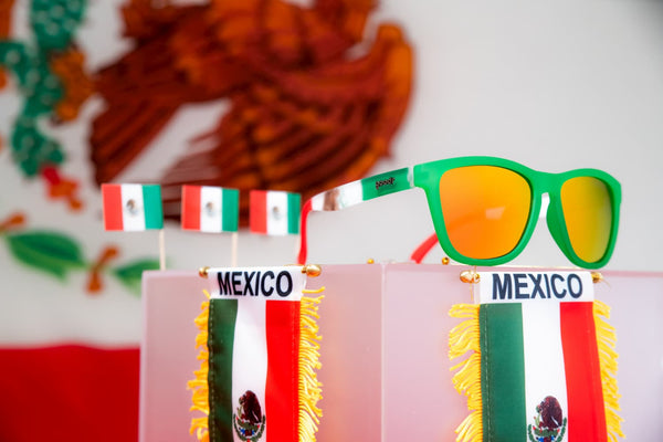 Mexican flag party sunglasses