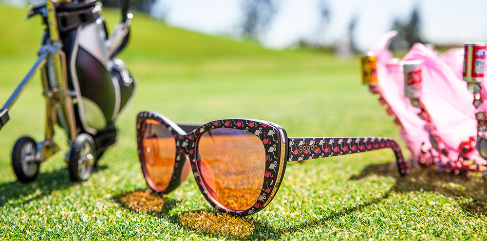 Gopher a Flamingo!-The Runways-GOLF goodr-3-goodr sunglasses
