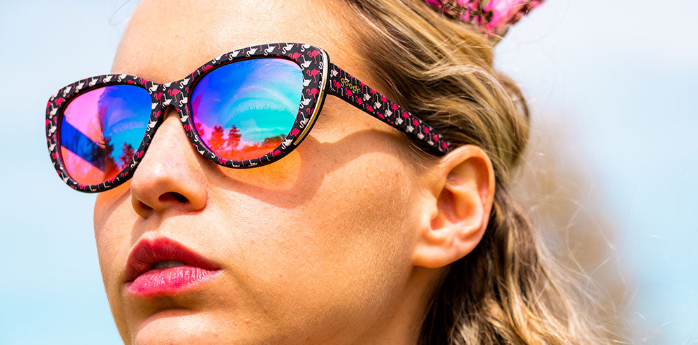 Gopher a Flamingo!-The Runways-GOLF goodr-4-goodr sunglasses