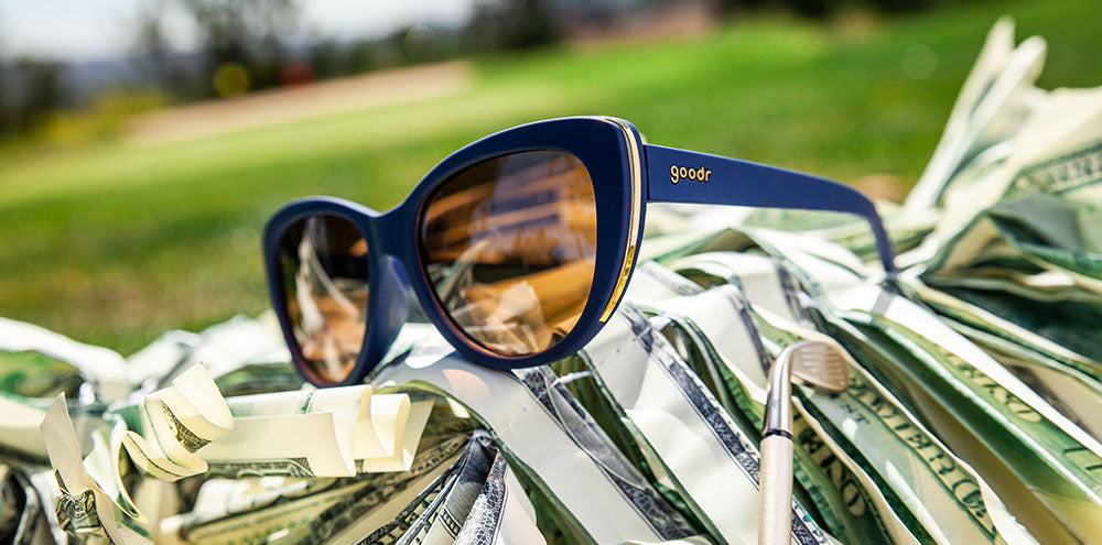 Mind the Wage Gap Wedge-The Runways-GOLF goodr-3-goodr sunglasses