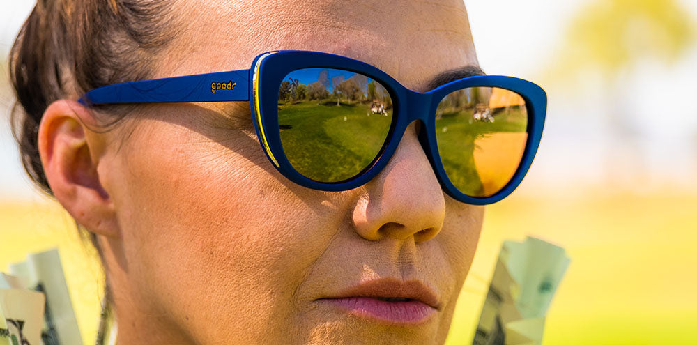 Mind the Wage Gap Wedge-The Runways-GOLF goodr-4-goodr sunglasses