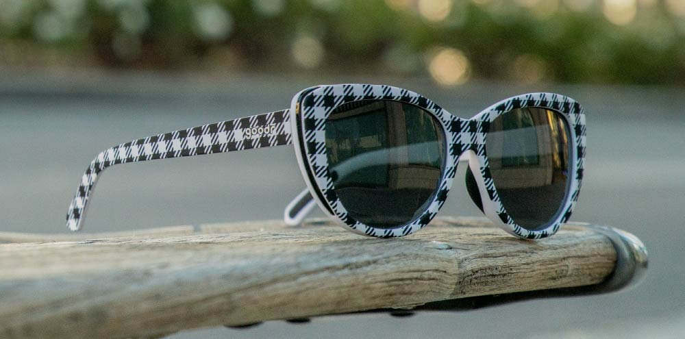 Gingham Is Sooo Last Season-The Runways-RUN goodr-3-goodr sunglasses
