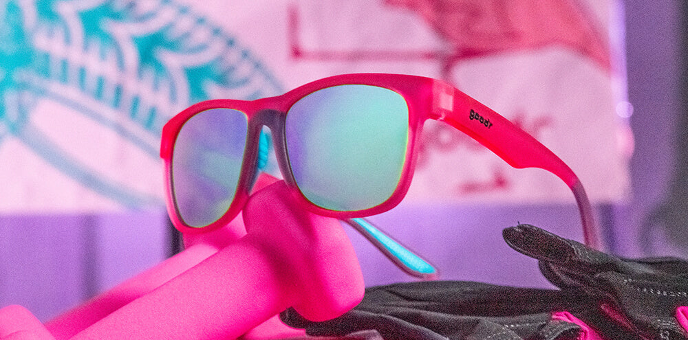 Do You Even Pistol, Flamingo?-BFGs-BEAST goodr-3-goodr sunglasses