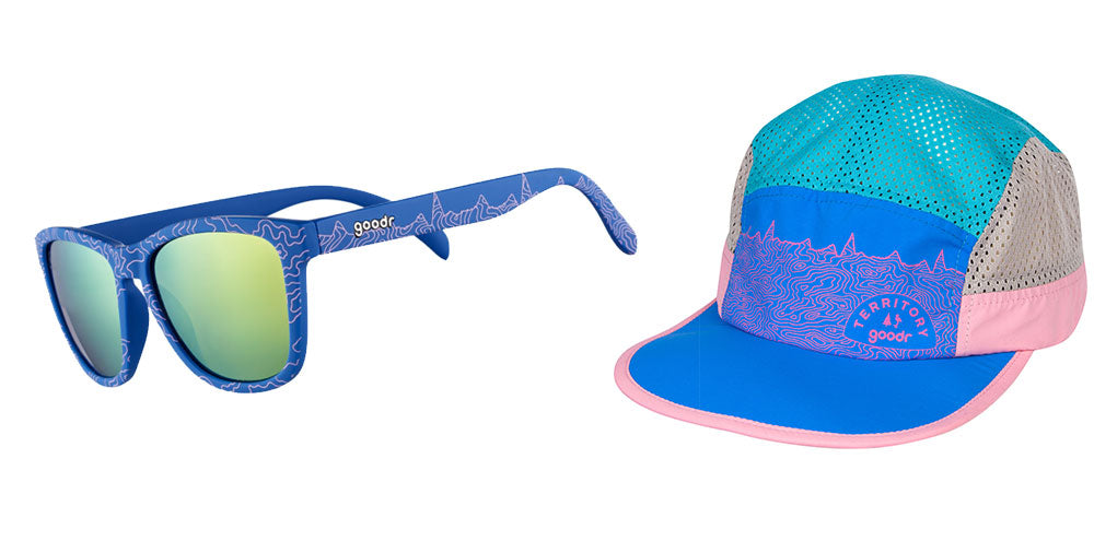 Top o' the Peakers + Summ-Hat-The OGs-RUN goodr-1-goodr sunglasses
