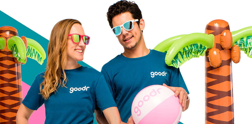 Flocking Basic T-Shirt-goodr sunglasses-2-goodr sunglasses