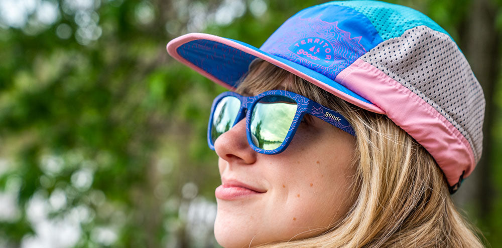 Top o' the Peakers + Summ-Hat-The OGs-RUN goodr-4-goodr sunglasses