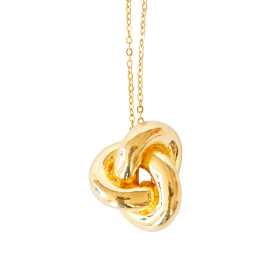 Knot pendant and necklace