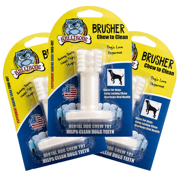 3 PACK Bullibone Brusher - Small