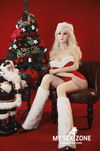 Load image into Gallery viewer, AF Doll Shana: 165CM 5FT5 Christmas Blonde Sex Doll