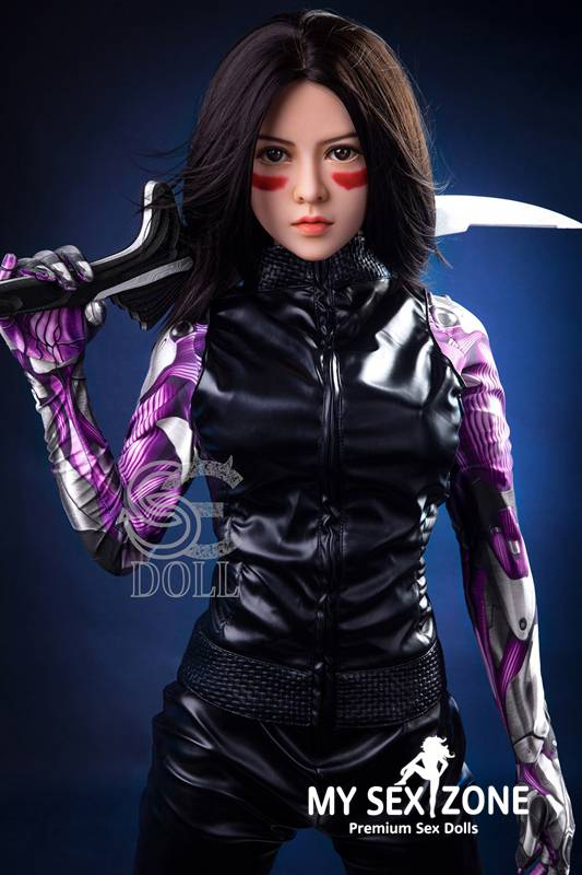SE Doll Kiko: 156CM 5FT1 E-Cup Battle Angel Sex Doll
