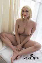 Load image into Gallery viewer, WM Doll Alyson: 162CM 5FT4 B-Cup Blonde Sex Doll