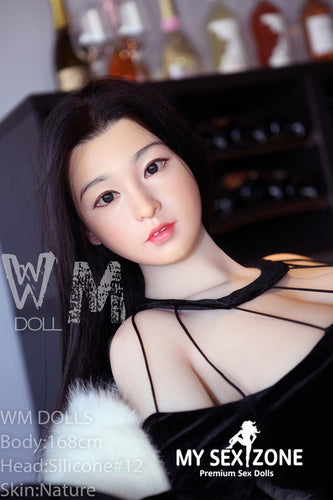 WM Doll Audry: 168CM 5FT6 E-Cup Silicone Head Sex Doll
