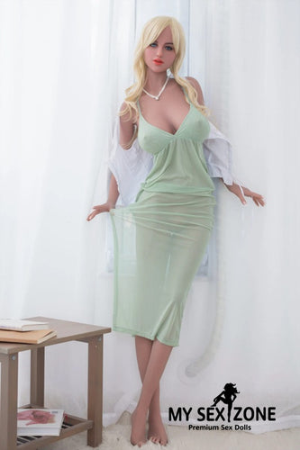 WM Doll Faye: 172CM 5FT8 G-Cup Blonde BBW Sex Doll