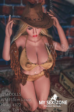 Load image into Gallery viewer, WM Doll Gladys: 155CM 5FT1 L-Cup Cowgirl Sex Doll