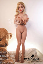 Load image into Gallery viewer, WM Doll Kaley: 142CM 4FT8 L-Cup Big Boobs Sex Doll