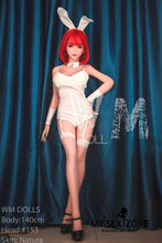 Load image into Gallery viewer, WM Doll Leona: 140CM 4FT7 D-Cup Red Hair Japanese Sex Doll