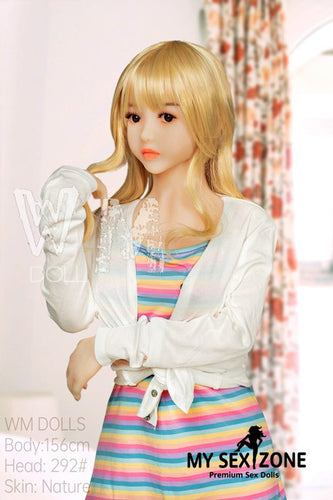 WM Doll Sara: 156CM 5FT1 C-Cup Cute Blonde Sex Doll