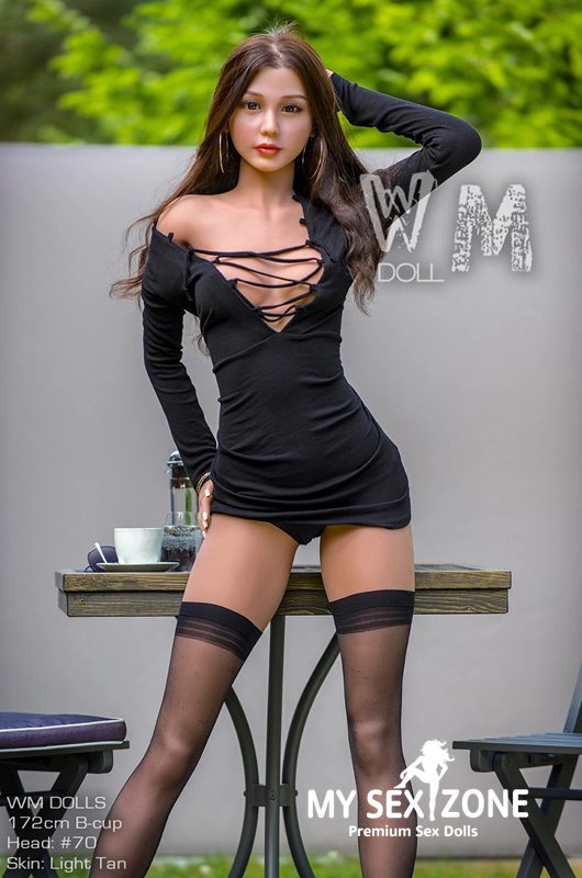 WM Doll Valerie: 172CM 5FT8 B-Cup Asian Premium Sex Doll