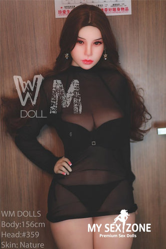 WM Doll Verna: 156CM 5FT1 H-cup Feminine Japanese Sex Doll