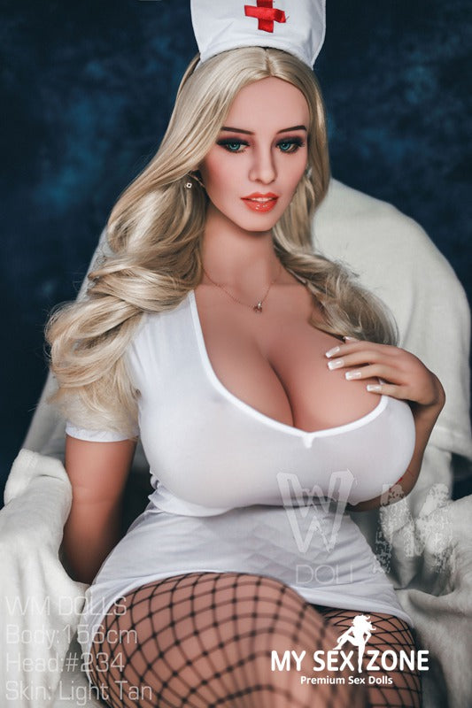 WM Doll 156CM 5FT1 M-cup BBW Sex Doll Fiona - MYSEXZONE