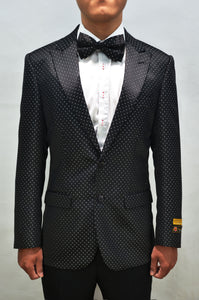 Paisley-100 B. Dots - Mens Wholesale Blazers