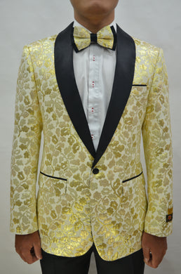 Paisley-300 Champagne - Mens Wholesale Blazers