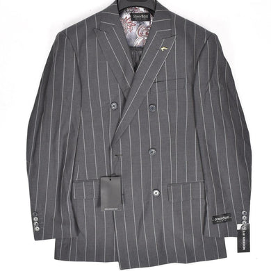 1695-12 Dominique Wilkins Vested Peak Lapel Suit
