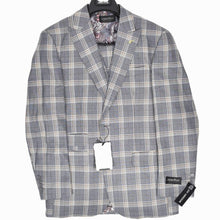 Load image into Gallery viewer, 9856-11 Dominique Wilkins Vested Peak Lapel Suit