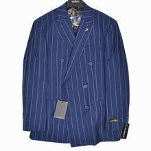 Load image into Gallery viewer, 1695-2 Dominique Wilkins Vested Peak Lapel Suit