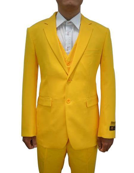 2BV Suit - Dark Yellow