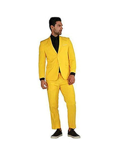 2BV Suit - Medium Yellow - AlbertoNardoniStore