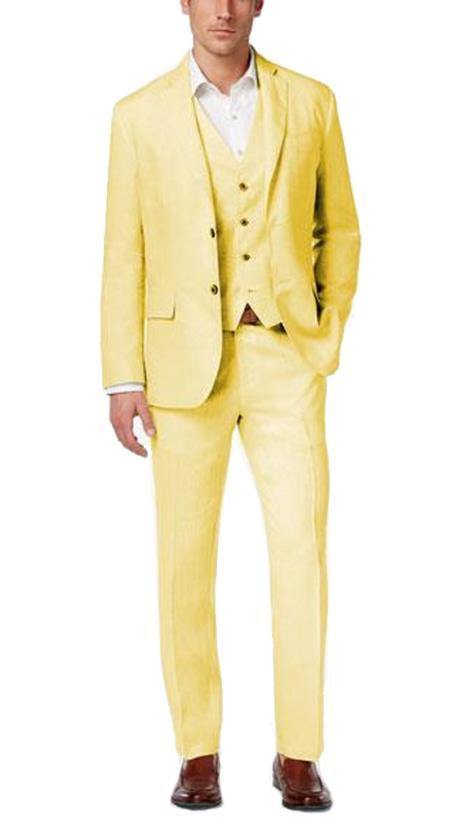 2BV Suit - Yellow