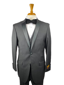 RACK-C-3-Skinny-tux	Black-Blk -  Tuxedo Wholesale  Distributors