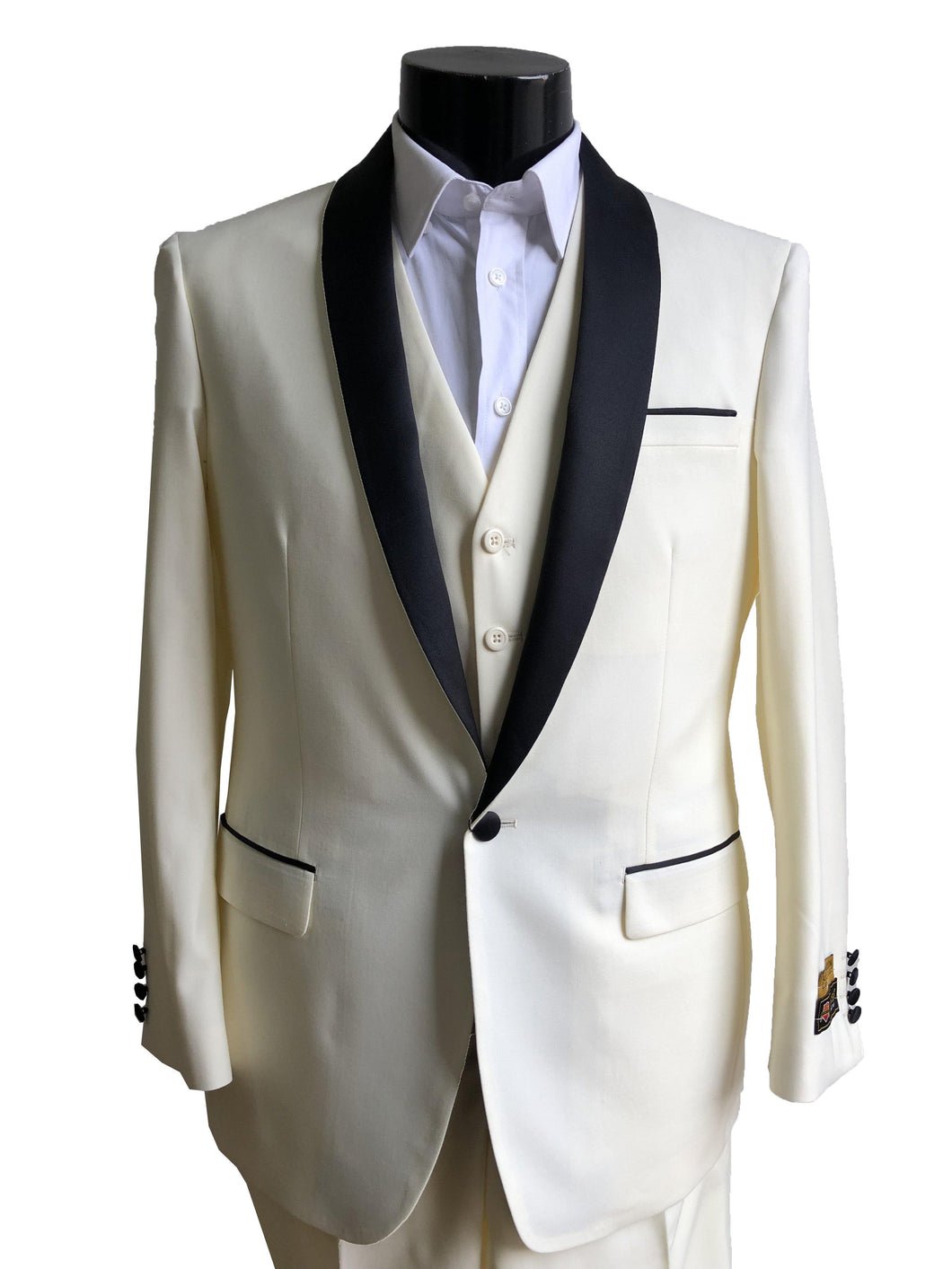 Copy of 29-C-Tux-Shawl	Shinny-Silver -  Tuxedo Wholesale  Distributors - AlbertoNardoniStore
