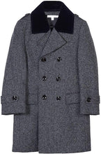 Load image into Gallery viewer, Isaac Mizrahi Boys' Velvet Quilt 2-20 Peacock - Navy Tweed