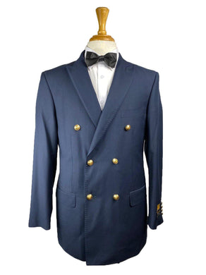 5-A-DB-BLAZE - Navy - Mens Wholesale Suit - AlbertoNardoniStore