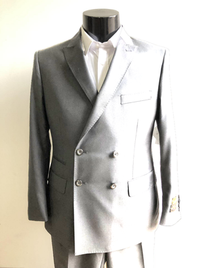 DB-Slim Charcoal Gray - Wholesale Mens Suits - Wholesale Suits