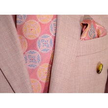 Load image into Gallery viewer, Solid Light Pink Single Button Double Breasted Classic Fit Suit RLBP46 | Suits Beverly Hills