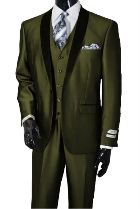 Tux-SH Olive/Blk -  Tuxedo Wholesale  Distributors