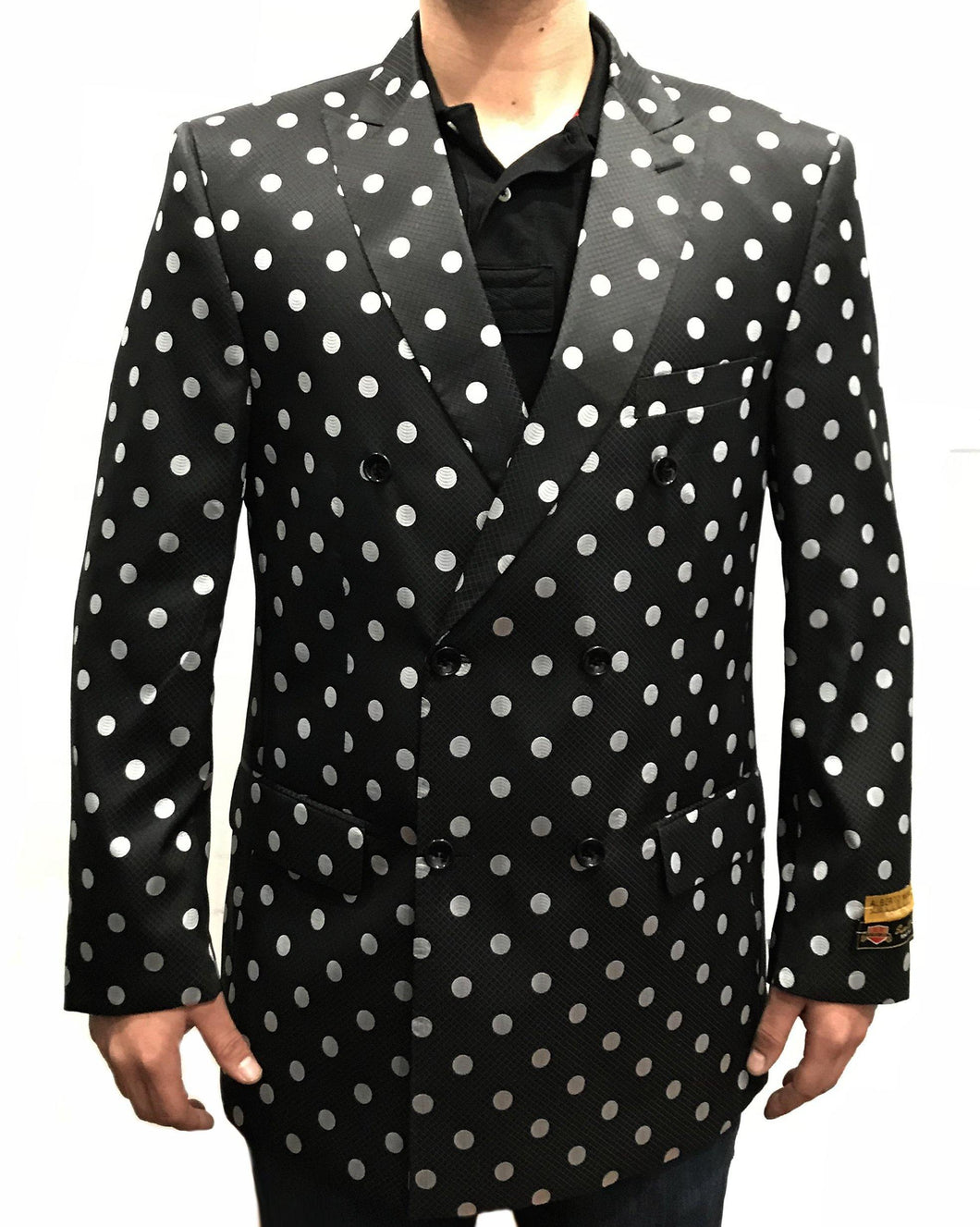 DB-Blazer Black/White Dots