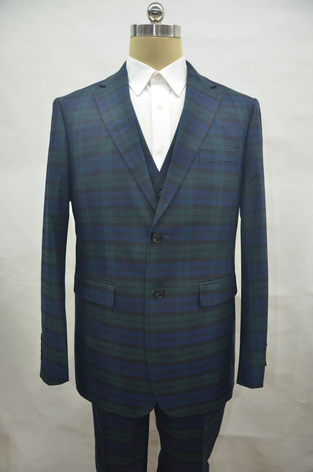 Plaid-235 Green