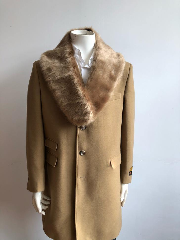 Car-Coat-Camel - Wholesale Coat - Wholesale Winter Coats - AlbertoNardoniStore