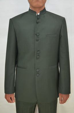 Mens Clergy Suits - Dark Olive