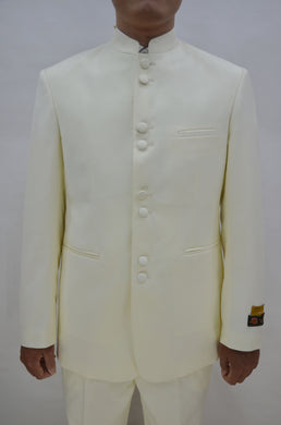 Mens Clergy Suits - Ivory