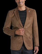 Load image into Gallery viewer, Brown Microsuede Modern Fit Sport Coat